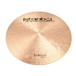 ISTANBUL AGOP TRADITIONAL FLAT RIDE 20 PLATO BATERIA