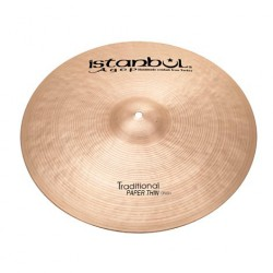 ISTANBUL AGOP TRADITIONAL PAPER THIN CRASH 17 PLATO BATERIA