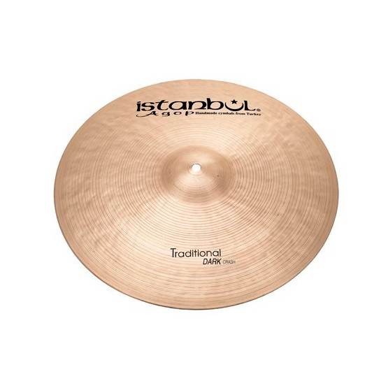 ISTANBUL AGOP TRADITIONAL DARK CRASH 18 PLATO BATERIA