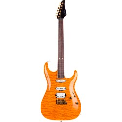 SUHR CARVE TOP CUSTOM KNPFLR G510 GUITARRA ELECTRICA TRANSPARENT HONEY.