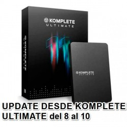 NATIVE INSTRUMENTS KOMPLETE 11 ULTIMATE UPGRADE K8U K10U PACK DE SOFTWARE