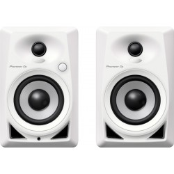 PIONEER DJ DM40W MONITORES ACTIVOS BLANCOS. PAREJA
