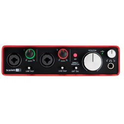 FOCUSRITE SCARLETT 2i2 2ND GENERATION INTERFAZ DE AUDIO USB