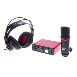 FOCUSRITE SCARLETT SOLO STUDIO 2ND GENERATION PACK INTERFAZ DE AUDIO