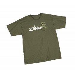 ZILDJIAN T5634 CAMISETA MILITARY GREEN TALLA XL
