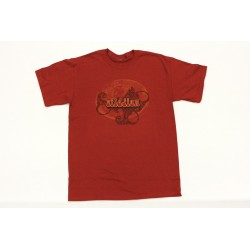 ZILDJIAN T5734 CAMISETA RED RETRO TALLA XL