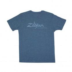 ZILDJIAN T6745 CAMISETA HEATHERED BLUE AZUL TALLA XXL