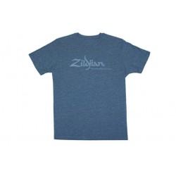 ZILDJIAN T6742 CAMISETA HEATHERED BLUE AZUL TALLA M