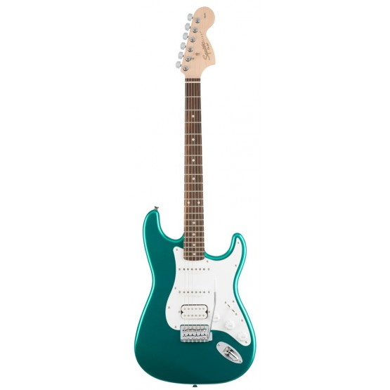 SQUIER AFFINITY STRATOCASTER HSS IL GUITARRA ELECTRICA RACE GREEN