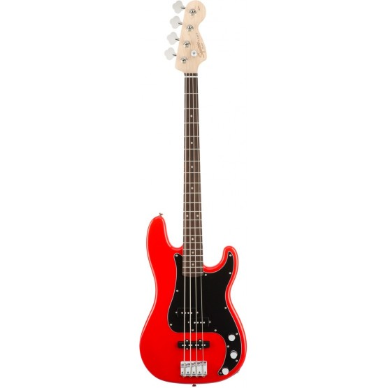 SQUIER AFFINITY PRECISION BASS PJ BAJO ELECTRICO RACE RED