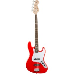 SQUIER AFFINITY JAZZ BASS RW BAJO ELECTRICO RACE RED.