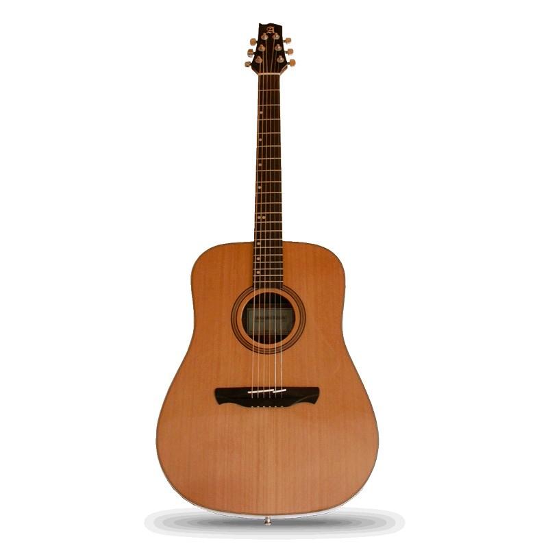 Alhambra w1 guitarra acustica abeto brillo precio tienda for Guitarras barcelona
