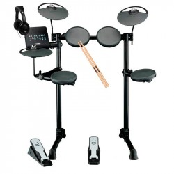 YAMAHA -PACK- DTX400K BATERIA ELECTRONICA + AURICULARES Y BAQUETAS
