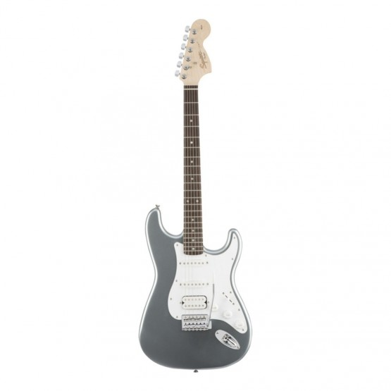 SQUIER AFFINITY STRATOCASTER HSS IL GUITARRA ELECTRICA SLICK SILVER