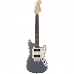 FENDER MUSTANG 90 PF GUITARRA ELECTRICA SILVER