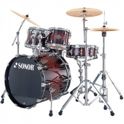 SONOR SELECT STAGE2 SMOOTH BROWN BURST BATERIA ACUSTICA.