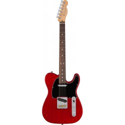 FENDER AMERICAN PRO TELECASTER ASH RW GUITARRA ELECTRICA CRIMSON RED TRANSPARENT
