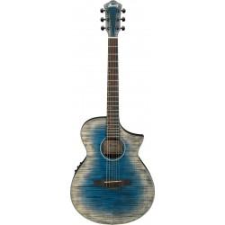 IBANEZ AEWC32FM GBL GUITARRA ELECTROACUSTICA GLACIER BLUE