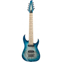IBANEZ RG852MPB GFB GUITARRA ELECTRICA 8 CUERDAS GHOST FLEET BLUE BURST