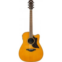 YAMAHA A1M II VN GUITARRA ELECTROACUSTICA DREADNOUGHT VINTAGE NATURAL