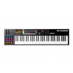 M AUDIO CODE61 BLACK TECLADO CONTROLADOR USB MIDI