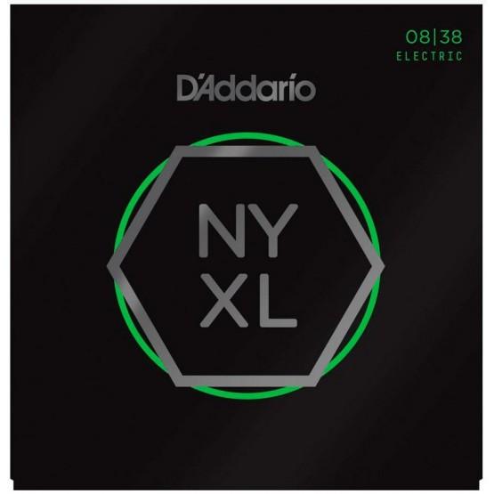 D'ADDARIO NYXL0838 JUEGO CUERDAS GUIT ELECTRICA 8-38