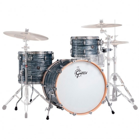 GRETSCH DRUMS RN2-E823 RENOWN MAPLE BATERIA ACUSTICA SILVER OYSTER PEARL