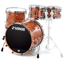SONOR PROLITE STAGE 3 BATERIA ACUSTICA CHOCOLATE BURL