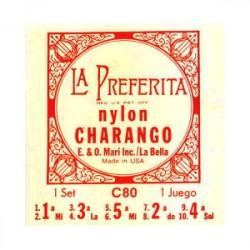 LA BELLA C80 JUEGO DE CUERDAS CHARANGO