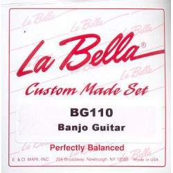 LA BELLA BG110 JUEGO 6 CUERDAS BANJO