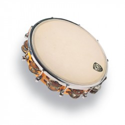 LATIN PERCUSSION CP391 PANDERETA DE MADERA AFINABLE