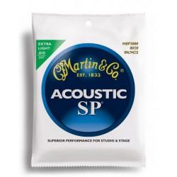 MARTIN SP3000 JUEGO DE CUERDAS GUITARRA ACUSTICA 10 47 BRONCE.