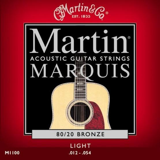 MARTIN M1100 MARQUIS JUEGO DE CUERDAS GUITARRA ACUSTICA 12 54 BRONCE