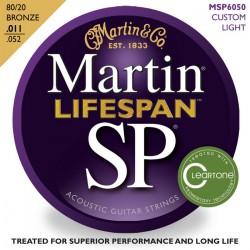 MARTIN SP6050 LIFESPAN JUEGO GUITARRA ACUSTICA 11 52 BRONCE.