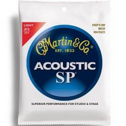 MARTIN SP3100 JUEGO DE CUERDAS GUITARRA ACUSTICA 12 54 BRONCE