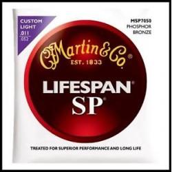 MARTIN SP7050 LIFESPAN JUEGO GUITARRA ACUSTICA 11 52 FOSFORO BRONCE