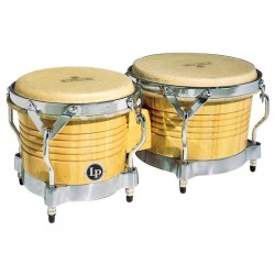 LATIN PERCUSSION M201AWC BONGOS NATURAL