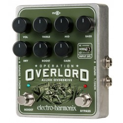 ELECTRO HARMONIX OPERATION OVERLORD PEDAL OVERDRIVE