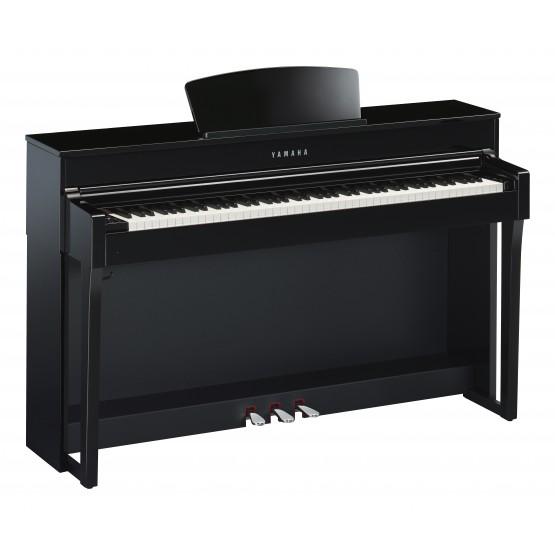YAMAHA CLP635 PE PIANO DIGITAL CLAVINOVA NEGRO PULIDO