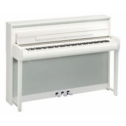 YAMAHA CLP685 PWH PIANO DIGITAL CLAVINOVA BLANCO PULIDO
