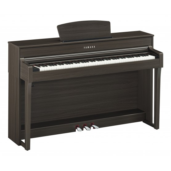 YAMAHA CLP635 DW PIANO DIGITAL CLAVINOVA DARK WALNUT. DEMO.