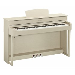 YAMAHA CLP635 WA PIANO DIGITAL CLAVINOVA BLANCO CENIZA