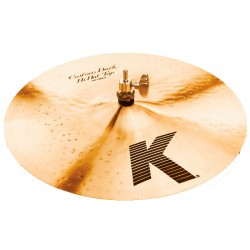 ZILDJIAN K CUSTOM DARK HI HAT 14 TOP PLATO BATERIA