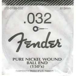 FENDER 032 PURE NICKEL CUERDA ENTORCHADA GUITARRA ELECTRICA.