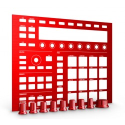 NATIVE INSTRUMENTS MASCHINE MK2 CUSTOM KIT DRAGON RED.