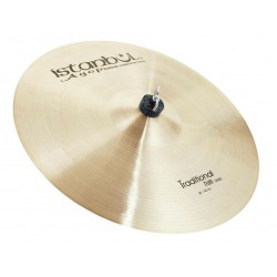ISTANBUL AGOP TRADITIONAL THIN CRASH 16 PLATO BATERIA