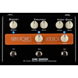 CARL MARTIN LICK BOX SIGNATURE GREG HOWE PEDAL DISTORSION