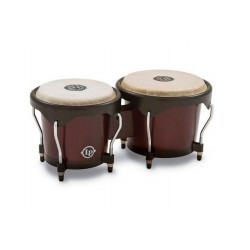 LATIN PERCUSSION LP601NY DW BONGOS MADERA DARK WOOD