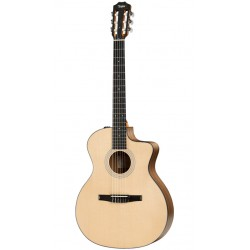 TAYLOR 114CE N WALNUT SITKA GUITARRA ELECTROACUSTICA NYLON GRAND AUDITORIUM