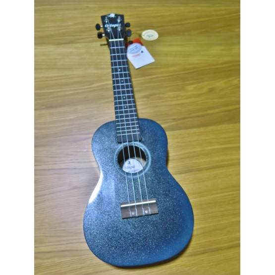 OCTOPUS UK-210CEX-BKB UKELELE CONCIERTO NEGRO BURST.